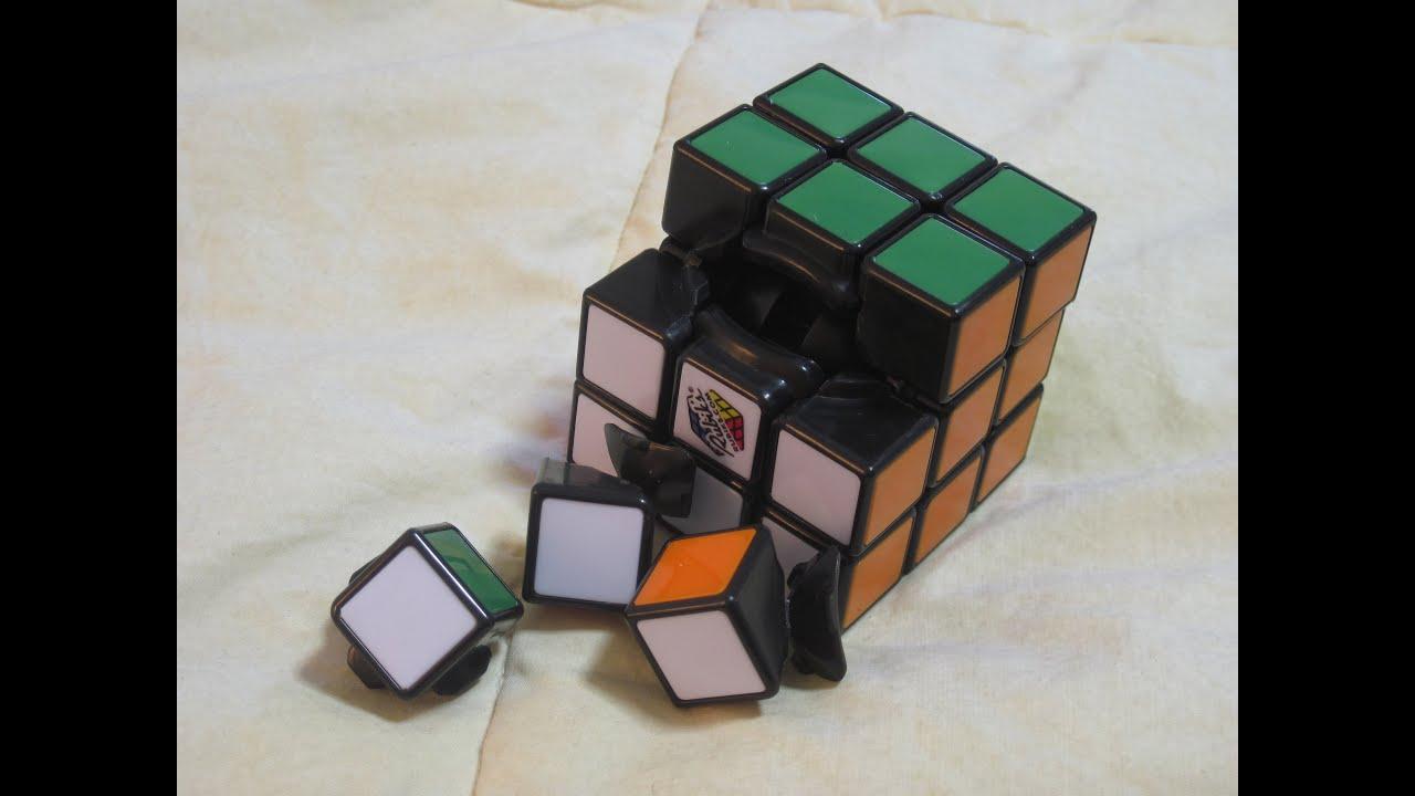 How To Take Apart A Rubik S Cube