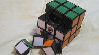 How to Disassemble the NEW Rubik's Cube 2.0