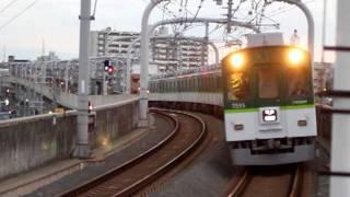 珍事!普通列車が寝屋川市駅を通過? thumbnail