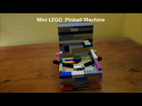 Mini LEGO Pinball Machine