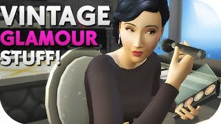 THE SIMS 4 // VINTAGE GLAMOUR STUFF — OVERVIEW, NEW BUTLER NPC + GIVEAWAY