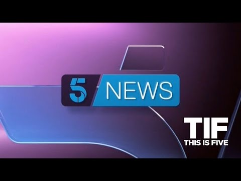 5 News at 5 - new look - Monday 31st October 2016
