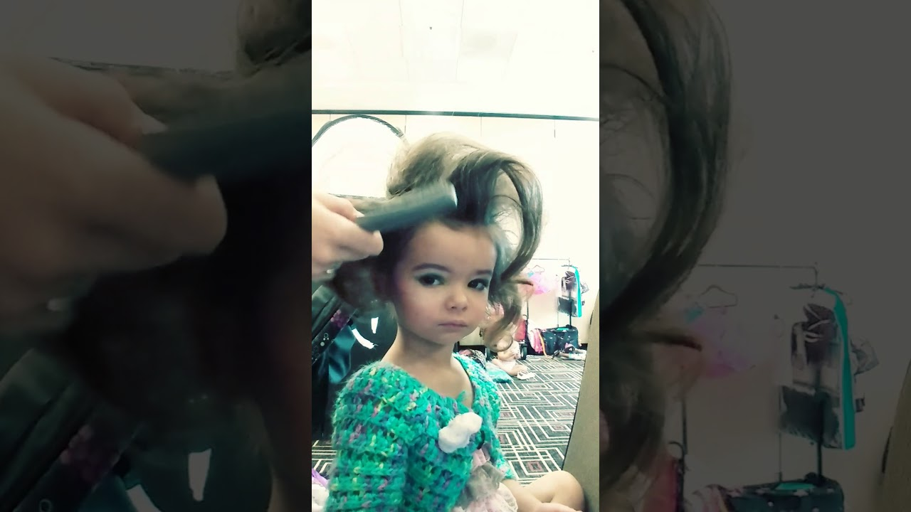 Glitz Pageant Hair How To Place A Wiglet Youtube