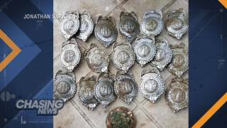 NJ Man Discovers Buried Police Badges In Family Garden