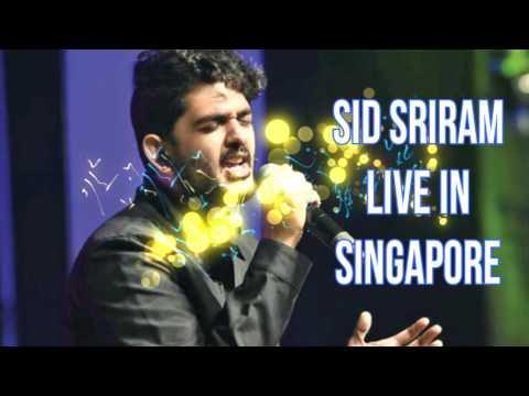 Sid Sriram in Singapore with VIJAY TV Stars & SG Talent