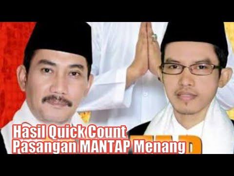 Hasil Quick Count, Pasangan MANTAP Klaim Kemenangan Di Pilkada Sampang