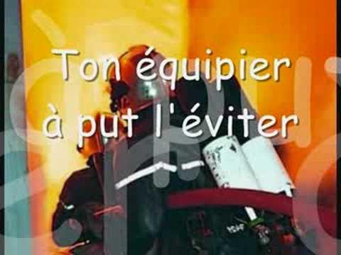Hommage aux pompiers