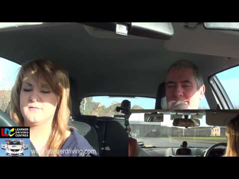 Claire's 19th driving lesson - Mock test review and final br