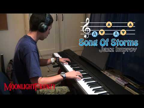 The Legend of Zelda - Song of Storms Jazz Improv