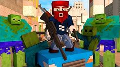 ICH MUSS ÜBERLEBEN!!! - Minecraft Zombie Escape