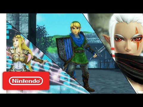 Hyrule Warriors: Definitive Edition - Character Highlight Series Trailer #1 - Nintendo Switch