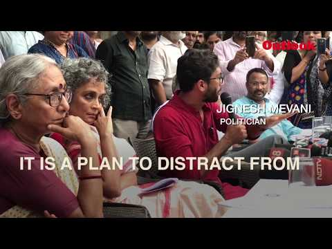 #MeTooUrbanNaxal goes offline with Arundhati Roy, Jignesh Mevani, Aruna Roy and other activists