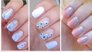 3 Cute and Easy Nail Art Designs for New Years!