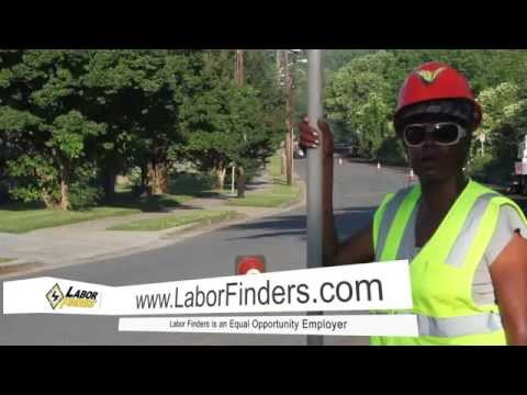 Labor Finders Women In Blue Collar Flaggers: I Like My Job