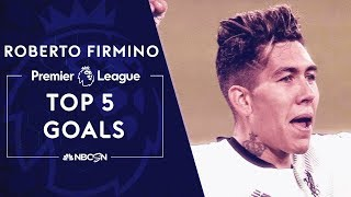 Roberto Firmino's top 5 Premier League goals | NBC Sports