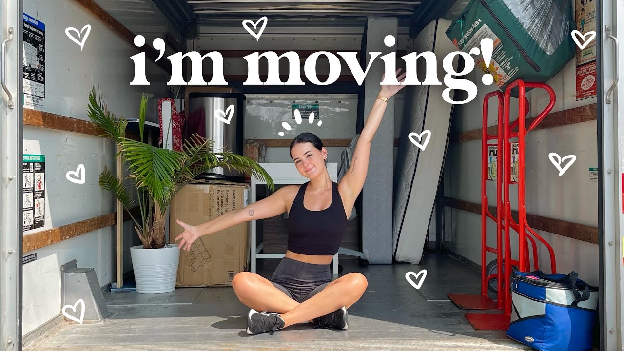 I'M MOVING OUT! pack and prepare to move to philly w/ me ☻