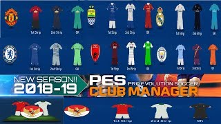 Cara Ganti Kits Pes Club Manager