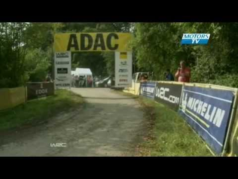 WRC 2012 Germany Day 1 Highlights