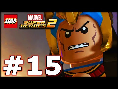LEGO Marvel Superheroes 2 - Part 15 - Mummy Attack! (HD Gameplay Walkthrough)