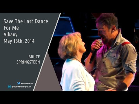 Bruce Springsteen | Save The Last Dance For Me - Albany - 13/05/2014 (Multicam/Dubbed)