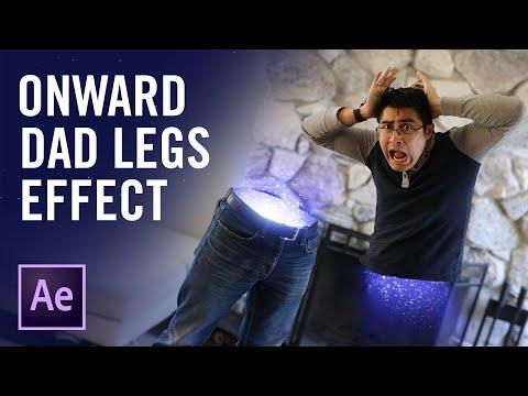 Cheap Tricks   Pixar's Onward Half Dad Effect tutorial