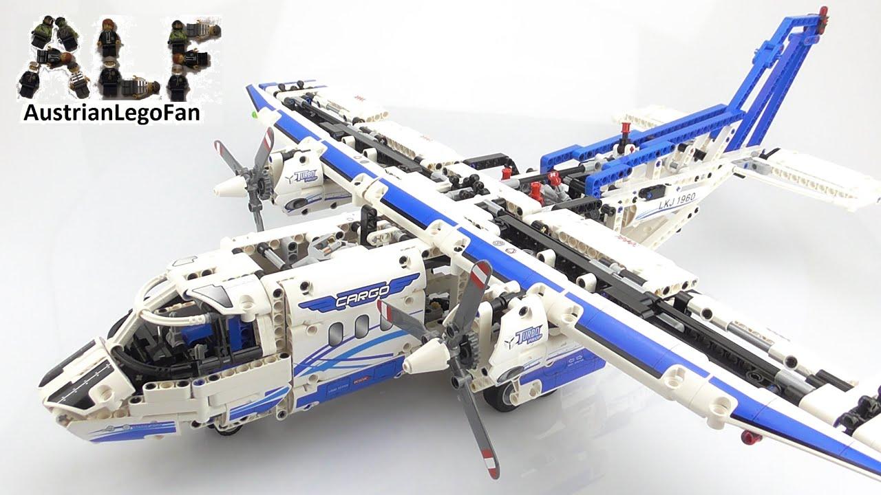 lego technic 42025 cargo plane lego speed build review. Black Bedroom Furniture Sets. Home Design Ideas