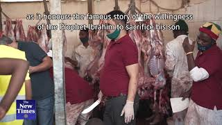 How Muslims Slaughtered Sheep, Goats And Cows To Celebrate Eid-Al-Adha