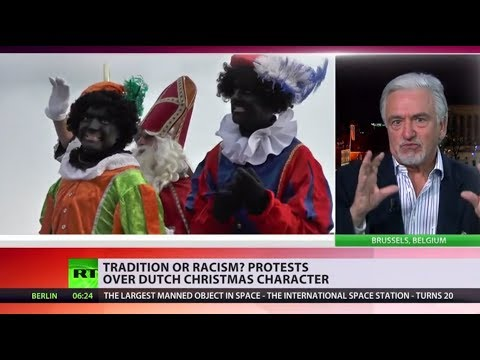 Controversy over Christmas character 'Black Pete' sparks protests in Netherlands