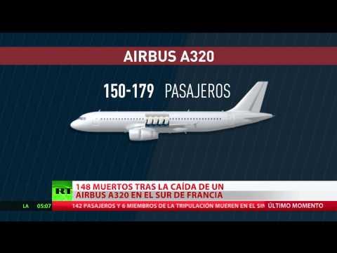 Estas son las características técnicas de la aeronave Airbus A320