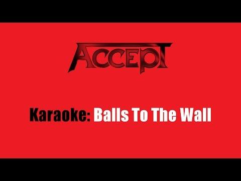 Karaoke: Accept / Balls To The Wall