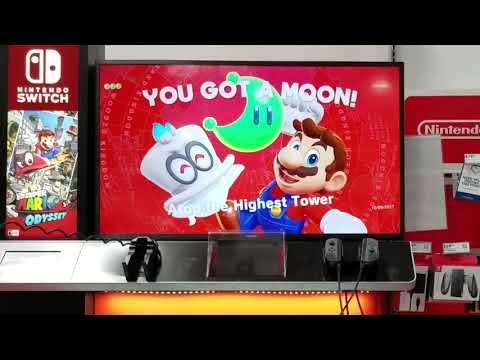 More Super Mario Odyssey Best Buy Demo + Analysis
