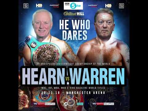 Barry Hearn vs Frank Warren (5Live - 23rd September 2018)