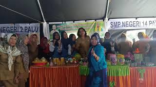 Luar biasa ekspo SMP negeri 14 di SMP 1 palu