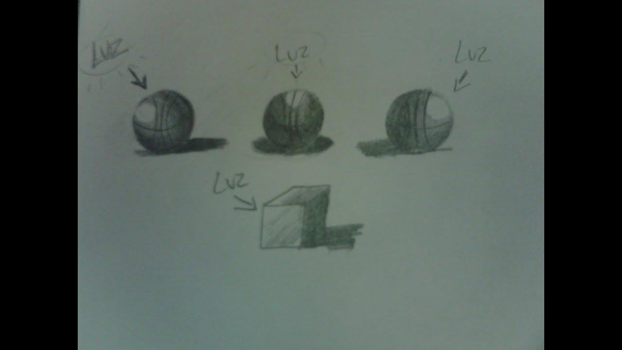 Tutorial de como hacer buenas sombras en tus dibujos youtube for Mesa de dibujo con luz