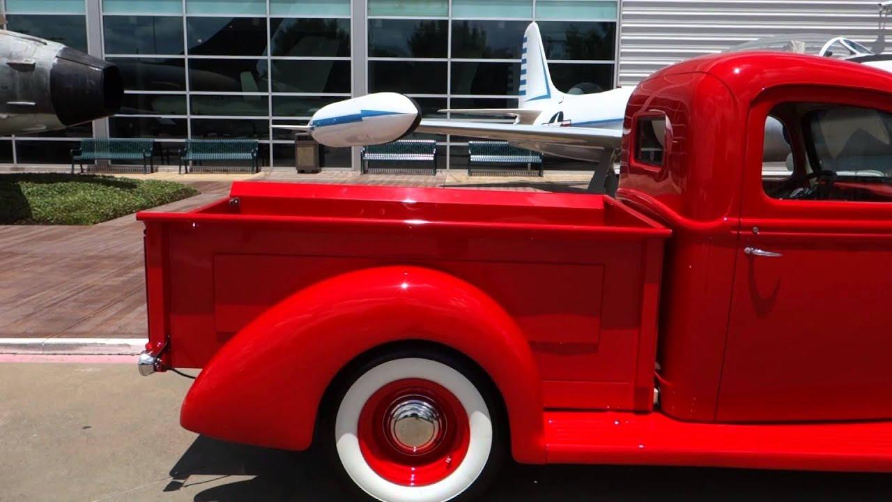 Dallas Classic Cars >> 1941 Ford F1 Pickup Truck - YouTube