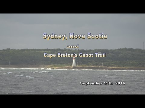 Sydney NS and Cabot Trail