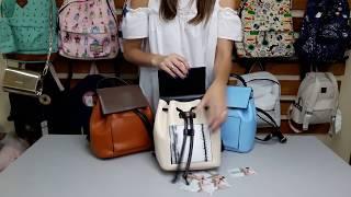 1ecaa20f4050 Модный женский рюкзак из кожзама ...
