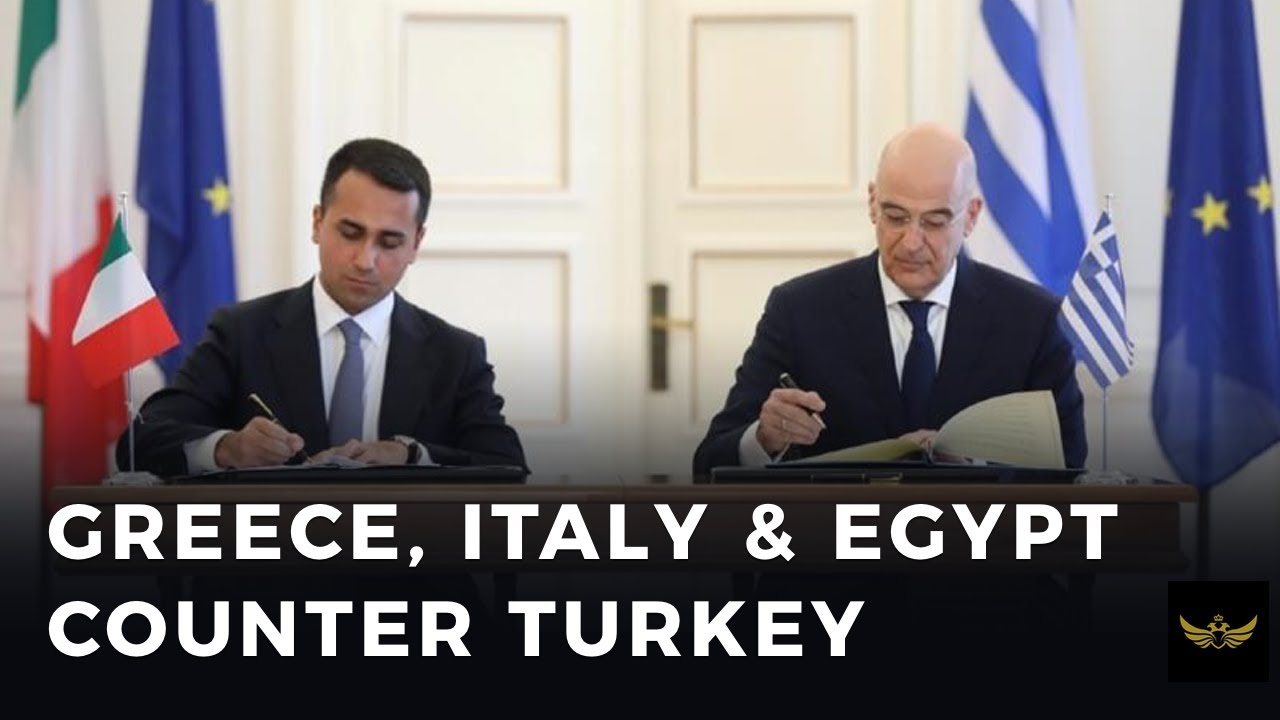 Greece counters Turkey in EASTMED with Italy & Egypt alliance. Part 2
