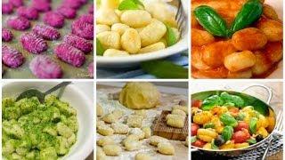 Ньокки или картофельные клецки. Gnocchi di patate