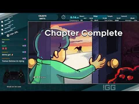 Celeste Any% (Current Patch) Speedrun in 29:35