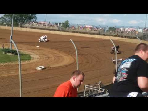 World of Outlaws Hot Laps  Lawrenceburg Speedway
