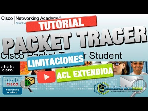 Packet Tracer : 14 Bloquear ICMP y Limitar HTTP con ACL Extendida o Extended