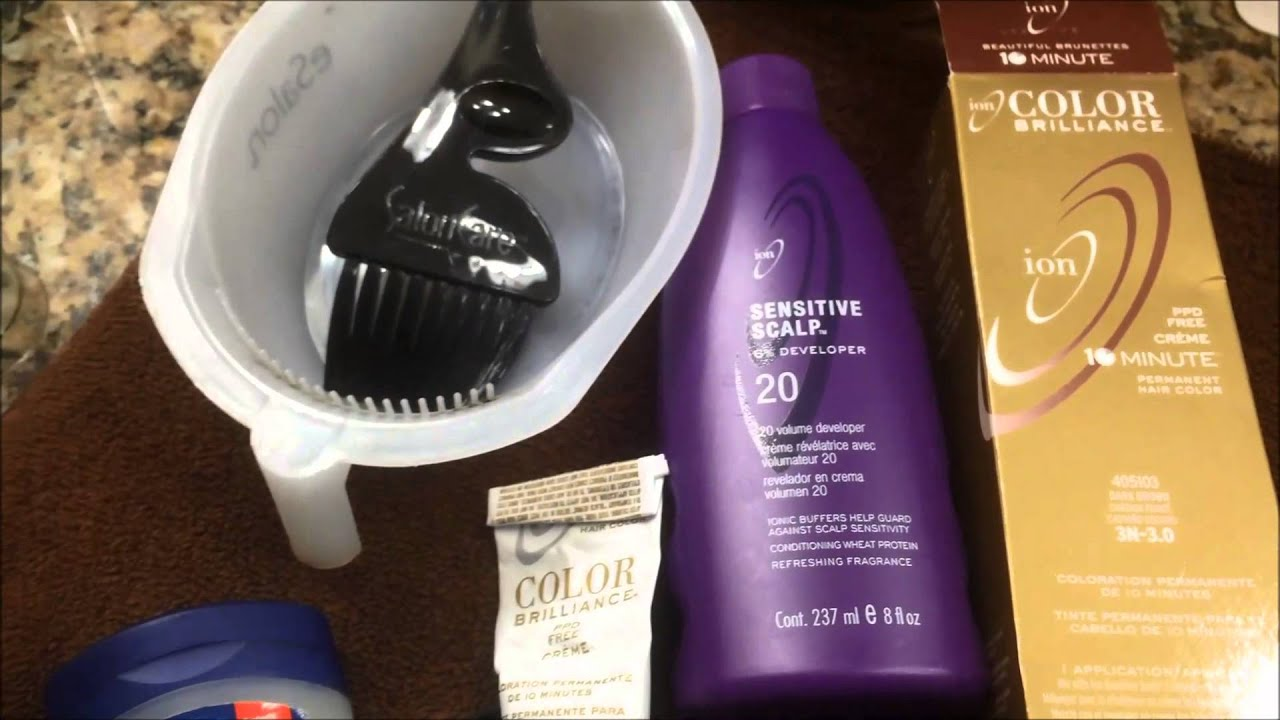 Sensitive Scalp What Products To Use To Color Your Hair