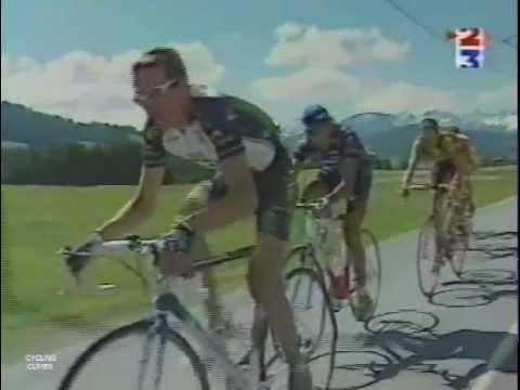 Critérium du Dauphiné Libéré 1998 - Col des Aravis / Mégève Côte 2000