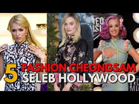 Cantiknya Aktris dan Penyanyi Hollywood Menggunakan Baju Cheongsam
