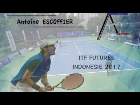 Antoine ESCOFFIER - International TENNIS Tournament - F2 Futures INDONESIA