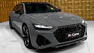 2020 Audi RS6 Avant In Beautiful Details/Nardo Gray