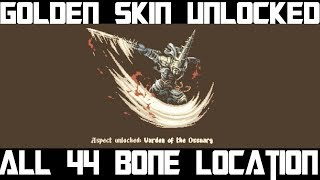 All 44 bone Collectible location + Final Skin Unlocked , Blasphemous Collectibles location - 1