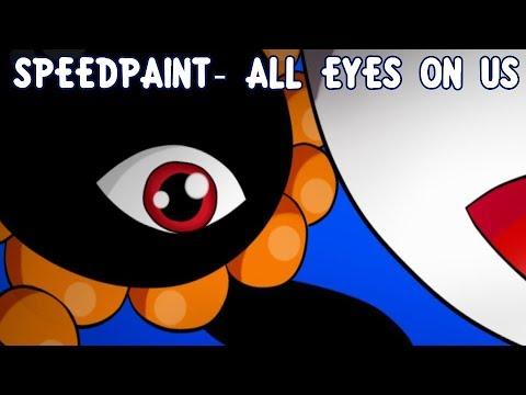 speedpaint all eyes on