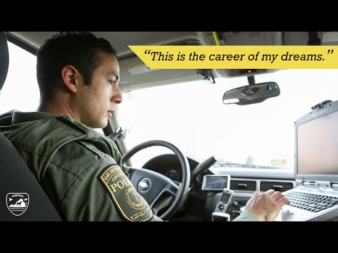 """Virginia Conservation Police Officer: """"The Career of My Dreams"""""""
